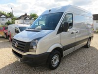 2014 VOLKSWAGEN CRAFTER 2.0 CR35 TDI MWB HIGH ROOF STARTLINE 109 BHP WITH TAIL LIFT £9995.00