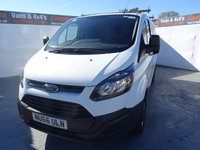 USED 2016 66 FORD TRANSIT CUSTOM 2.2 290 LR P/V 1d 99 BHP FORD TRANSIT CUSTOM WITH ONLY 16000 MILES LIKE NEW
