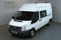 USED 2011 61 FORD TRANSIT 2.4 350 115 BHP LWB H/ROOF 8 SEATER COMBI MESS VAN FITTED WORKING TOILET