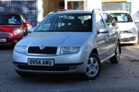 USED 2004 54 SKODA FABIA 1.4 ELEGANCE 16V 5 DOOR PETROL ESTATE FULL SERVICE HISTORY WITH 13 SERVICE STAMPS * CAMBELT IN 2017