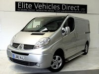 2012 RENAULT TRAFIC 2.0 SL27 SPORT DCI S/R 1d 115 BHP £SOLD