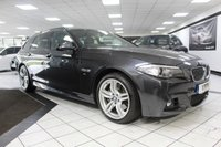 USED 2015 64 BMW 5 SERIES 535D M SPORT TOURING AUTO 309 BHP PAN ROOF DEPLOY TOW H/K FBMWSH