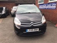 2009 CITROEN C4 GRAND PICASSO 1.6 VTR PLUS HDI 5d 107 BHP £3990.00
