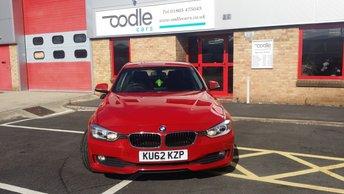 2012 BMW 3 SERIES 2.0 318D SE 4d AUTO 141 BHP £9350.00