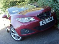 USED 2012 12 SEAT IBIZA 1.4 SPORTRIDER 5d 85 BHP