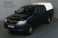 USED 2013 63 TOYOTA HI-LUX 2.5 HL2 4X4 D-4D DCB 142 BHP AIR CON LIGHT UTILITY PICK UP AIR CONDITIONING SPARE KEY