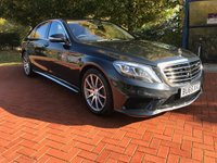 2015 MERCEDES-BENZ S CLASS 5.5 AMG S 63 L EXECUTIVE 4d AUTO 577 BHP £64990.00