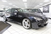 2016 BMW 6 SERIES GRAN COUPE 640D M SPORT PLUS GRAN COUPE AUTO 309 BHP £23950.00