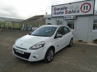 USED 2012 62 RENAULT CLIO 1.1 DYNAMIQUE TOMTOM 16V 75 BHP £17 PER WEEK, NO DEPOSIT - SEE FINANCE LINK