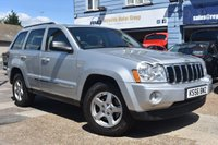 USED 2006 56 JEEP GRAND CHEROKEE 3.0 V6 CRD LIMITED 5d AUTO 215 BHP COMES WITH 6 MONTHS WARRANTY