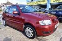 2001 VOLKSWAGEN POLO 1.4 MATCH 3d AUTO 60 BHP £3499.00