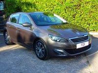 2015 PEUGEOT 308 1.6 BLUE HDI S/S ALLURE 5d 120 BHP £6975.00