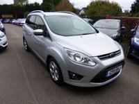 USED 2011 11 FORD GRAND C-MAX 1.6 ZETEC 125 BHP THIS VEHICLE IS AT SITE 1 - TO VIEW CALL US ON 01903 892224