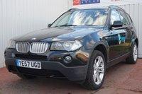 2007 BMW X3 3.0 SD SE 5d 282 BHP £5495.00