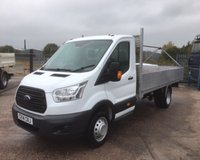 USED 2014 14 FORD TRANSIT T350 2.2 TDCI LONG WHEEL BASE ALLOY DROPSIDE (13'6)