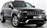 USED 2014 14 JEEP GRAND CHEROKEE 3.0 CRD Summit 4x4 5dr Auto Pan Roof, Hot/Cold Seats, Nav+