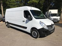 USED 2015 65 RENAULT MASTER 2.3 LM35 BUSINESS DCI 125PS Long Wheel Base, Medium Roof