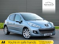 USED 2011 11 PEUGEOT 207 1.6 HDI ALLURE 5d 112 BHP PAN ROOF,BLUETOOTH,1/2 LEATHER