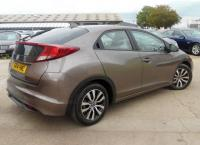 USED 2014 14 HONDA CIVIC 1.6 i-DTEC SE Plus 5dr (dab, premium audio) 2 OWNERS-F/S/H-PARK AID-£0 TAX