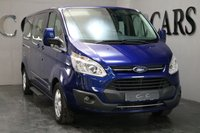 USED 2017 66 FORD TOURNEO CUSTOM 2.0 310 TITANIUM TDCI 5d 129 BHP VAT QUALIFYING A Versatile and Luxurious 9 Seat Minibus with Superb Full Grey and Black Heated Leather Throughout. This Vehicle has been Meticulously Maintained with a Full Documented Service History as Follows: 26.07.2017 at 26616 Miles 16.01.2018 at 48453 Miles 31.05.2018 at 67139 Miles Specification to Include Full Leather Interior, Bluetooth Connectivity, Park Distance Control, 16 Inch Alloy Wheels, Leather Multi Function Steering Wheel, Cruise Control, Air Conditioning