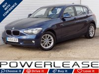 2014 BMW 1 SERIES 2.0 116D SE 5d 114 BHP £6389.00