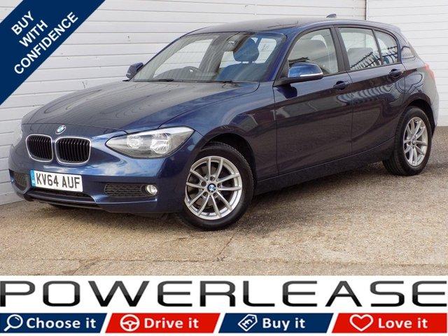 USED 2014 64 BMW 1 SERIES 2.0 116D SE 5d 114 BHP 20 POUND TAX DAB SAT NAV FSH