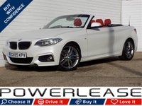 2015 BMW 2 SERIES 2.0 220D M SPORT 2d AUTO 188 BHP £16975.00