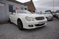 USED 2008 08 MERCEDES-BENZ CLK CLK280 Avantgarde 3.0 Tip Auto 2dr ( 231 bhp ) Beautiful Example Rare Finished in White with Unique Designo Nappa Leather Interior