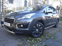 2014 PEUGEOT 3008 1.6 E-HDI ACTIVE 5d AUTO 115 BHP £8495.00