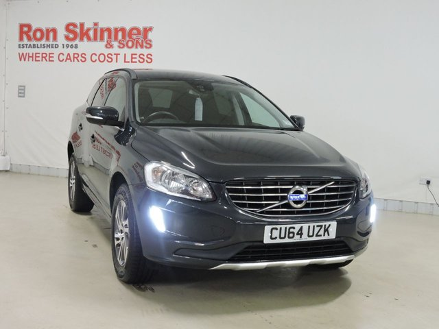 View our 2014 64 VOLVO XC60 2.0 D4 SE 5d 178 BHP