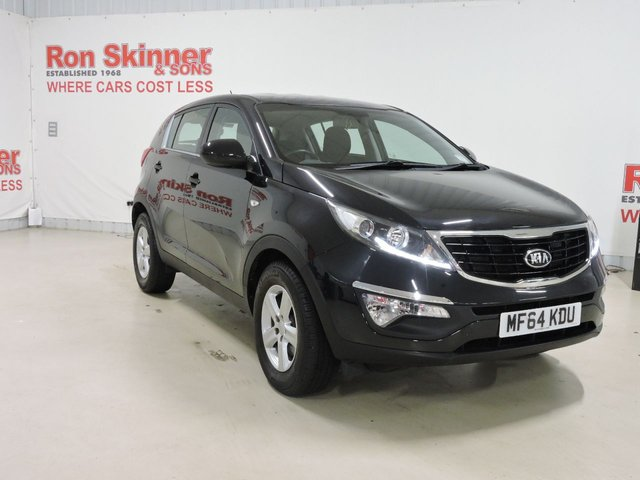 View our 2014 64 KIA SPORTAGE (145) 1.7 CRDI 1 5d 114 BHP