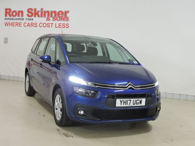 View our 2017 17 CITROEN C4 GRAND PICASSO 1.6 BLUEHDI TOUCH EDITION S/S 5d 118 BHP