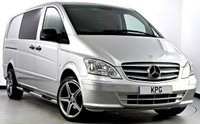 USED 2015 64 MERCEDES-BENZ VITO 2.1 CDI Dualiner Compact Panel Van 5dr (5 Seats) **NO VAT** Immaculate Example!