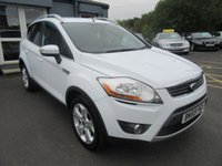USED 2009 59 FORD KUGA 2.0 ZETEC TDCI 2WD 5d 134 BHP Low Low Miles.  Great Value.  Finance Me Today