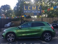 USED 2016 16 MERCEDES-BENZ GLA-CLASS 2.1 GLA 220 D 4MATIC AMG LINE PREMIUM 5d AUTO 174 BHP STUNNING ELBAITE GREEN METALLIC WITH BLACK ARTICO/DINAMICA MICROFIBRE UPHOLSTERY. ONLY ONE OWNER FROM NEW. 4MATIC. GARMIN MAP PILOT SATELLITE NAVIGATION. NIGHT PACKAGE. REVERSING CAMERA. PARKTRONIC SYSTEM. PRIVACY GLASS. PLEASE GOTO www.lowcostmotorcompany.co.uk TO VIEW OVER 120 CARS IN STOCK, SOME OF THE CHEAPEST ON AUTOTRADER.