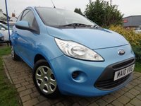 USED 2010 10 FORD KA 1.2 EDGE 3d 69 BHP **1 Owner Low Miles £30 Tax 12 Months Mot**