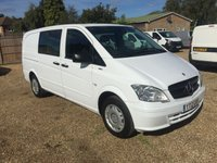 USED 2012 12 MERCEDES-BENZ VITO 2.1 113 CDI BLUEEFFICIENCY DUALINER 1d 136 BHP 5 SEATS * AIR/CON * SAT/NAV * CRUISE CONTROL  *