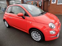 USED 2015 65 FIAT 500 1.2 LOUNGE 3dr  * Pan Roof + Bluetooth + Air Con *