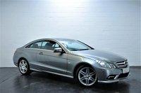 2010 MERCEDES-BENZ E CLASS 3.0 E350 CDI BLUEEFFICIENCY SPORT 2d AUTO 231 BHP £11795.00