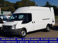 2011 FORD TRANSIT 100 350 LWB HIGH ROOF RWD WITH HISTORY £6995.00