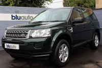 USED 2013 63 LAND ROVER FREELANDER 2.2 SD4 GS 5d AUTO 190 BHP Full Leather, Heated Seats, Tow Bar,  Cruise Control, Climate Control, Rear Parking Sensors, Bluetooth,