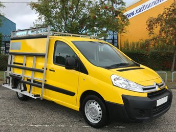 2015 CITROEN DISPATCH 1.6 1000 L1H1 ENTERPRISE HDI 90 [ GLASS RACK / FRAIL GLAZING ] Van Low Mileage    £7950.00