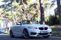 2016 BMW 2 SERIES 2.0 220D M SPORT 2d AUTO 190 HP