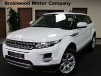 USED 2011 61 LAND ROVER RANGE ROVER EVOQUE 2.2 SD4 PURE 5d 190 BHP