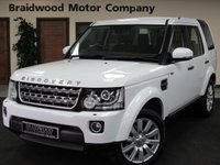 2014 LAND ROVER DISCOVERY 3.0 SDV6 GS 5d AUTO 255 BHP £19950.00