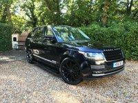 2016 LAND ROVER RANGE ROVER 3.0 TDV6 VOGUE SE 5d AUTO 255 BHP £51989.00
