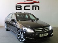 USED 2011 11 MERCEDES-BENZ C CLASS 2.1 C200 CDI BLUEEFFICIENCY SPORT 4d AUTO 135 BHP