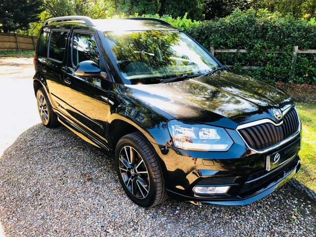 2014 64 SKODA YETI 2.0 BLACK EDITION TDI CR 5d 138 BHP