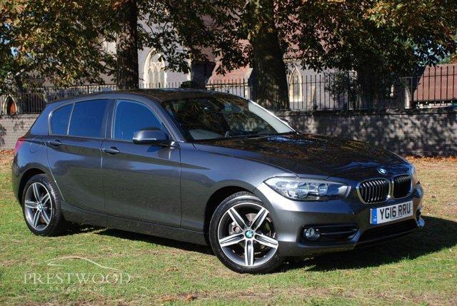 2016 16 BMW 1 SERIES 118i [1.5] SPORT [134 BHP] 5 DOOR HATCHBACK