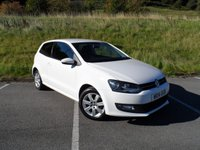 USED 2014 14 VOLKSWAGEN POLO 1.2 MATCH EDITION 3d 59 BHP SERVICE HISTORY, GREAT EXAMPLE WITH LOW MILES, REVERSE SENSORS